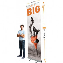 Roll Up Giant 150x300 cm