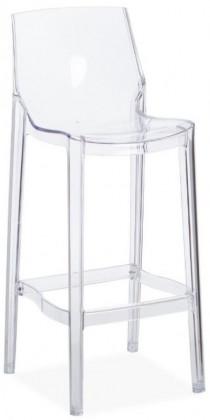Chaise Haute Transparente